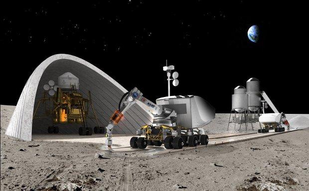 Imprimer des habitations sur des planètes lointaines, une solution pour des vols spatiaux plus longs // Photo Behnaz Farahi/NASA