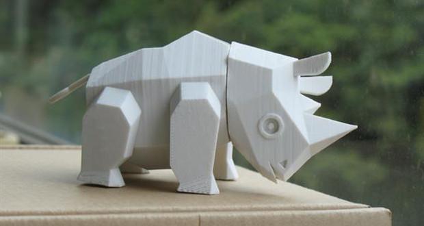 Le Rhino par Amao