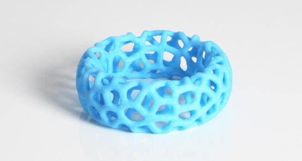 Bracelet Voronoï par Zortrax