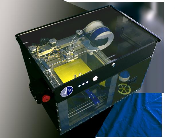 L'imprimante 3D NVPrinter inclura un système de décollement automatique des objets imprimés