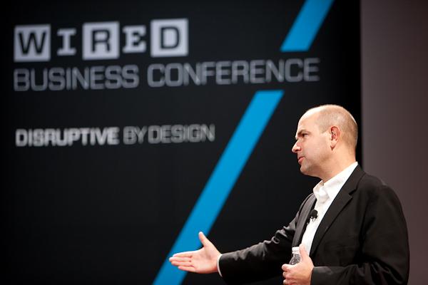 """Chris Anderson, rédacteur en chef du magazine Wired et auteur du livre """"Makers, la 3ème révolution industrielle"""""""