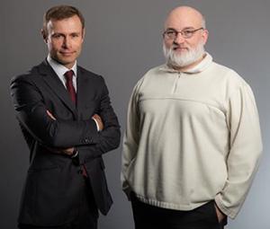 Raphaël Gorgé et André –Luc Allanic