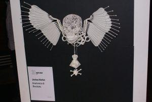 Le 3D Printshow, c'était aussi l'occasion de voir les oeuvres de l'artiste Josh Harker
