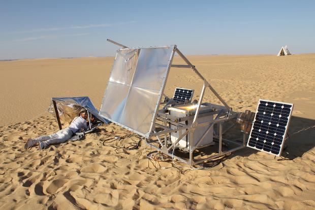 L'imprimante 3D SolarSinter mise au point par Markus Kayser