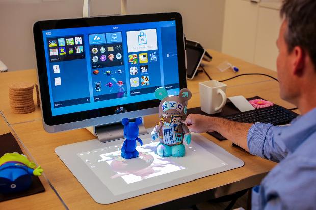Le PC Sprout permet de scanner en 3D depuis la surface de travail