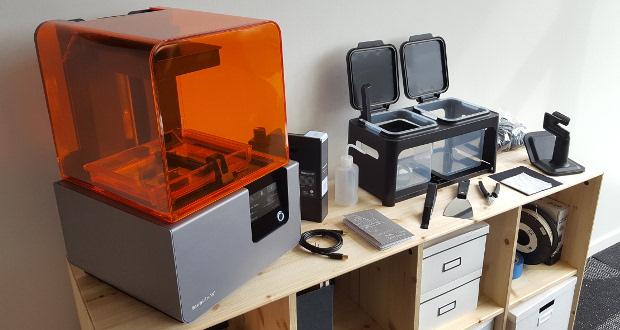 test de l imprimante 3d form 2 de chez formlabs lab 3dnatives. Black Bedroom Furniture Sets. Home Design Ideas