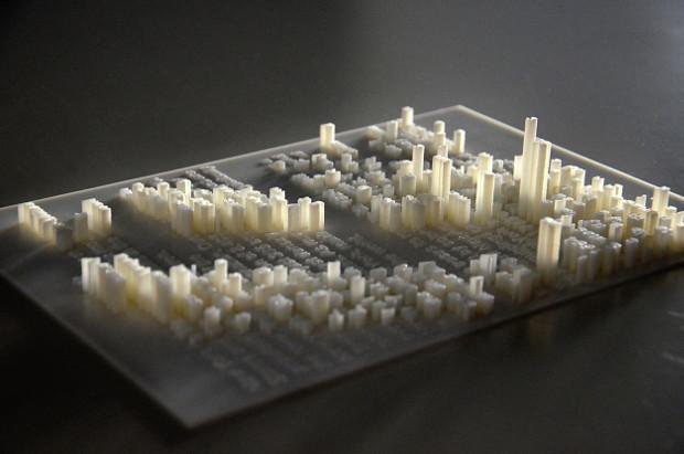 Une création en hommage à la ville de New-York