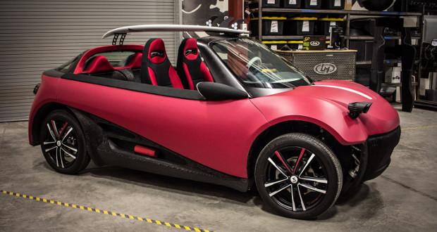 La Reload, la première voiture commerciale imprimée en 3D