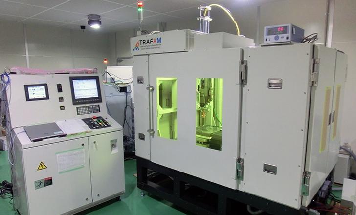 Le prototype d'imprimante 3D métal développée par Toshiba