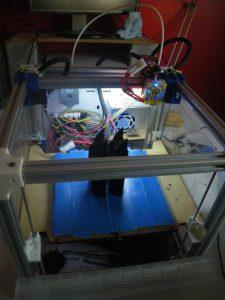 L'imprimante 3D embarquée