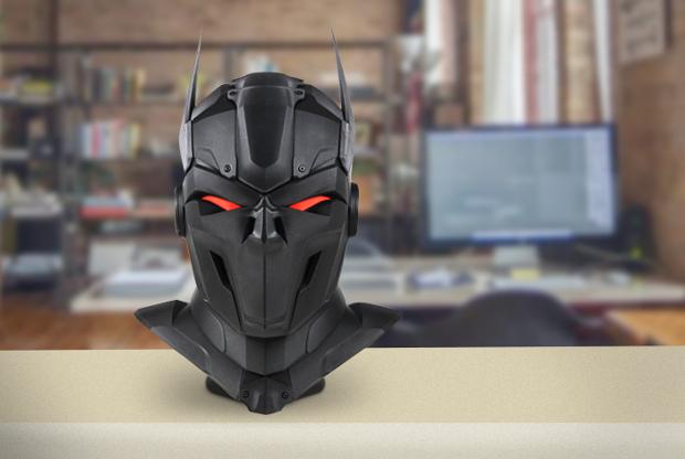 L'incroyable masque imaginé par Zortrax a nécessité 11 jours de travail