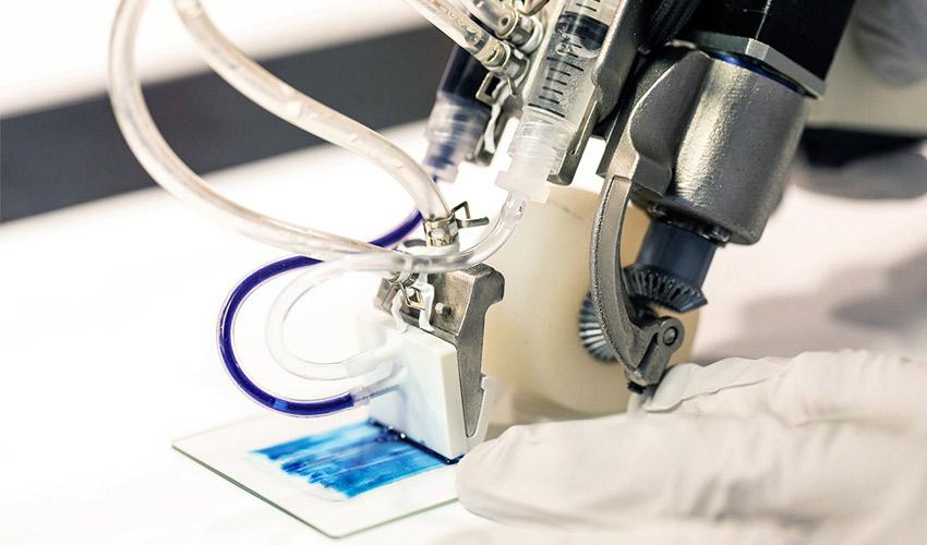 bio-imprimante 3D portable