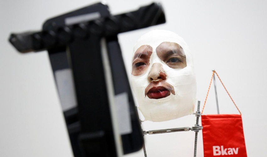 masque imprimé en 3D