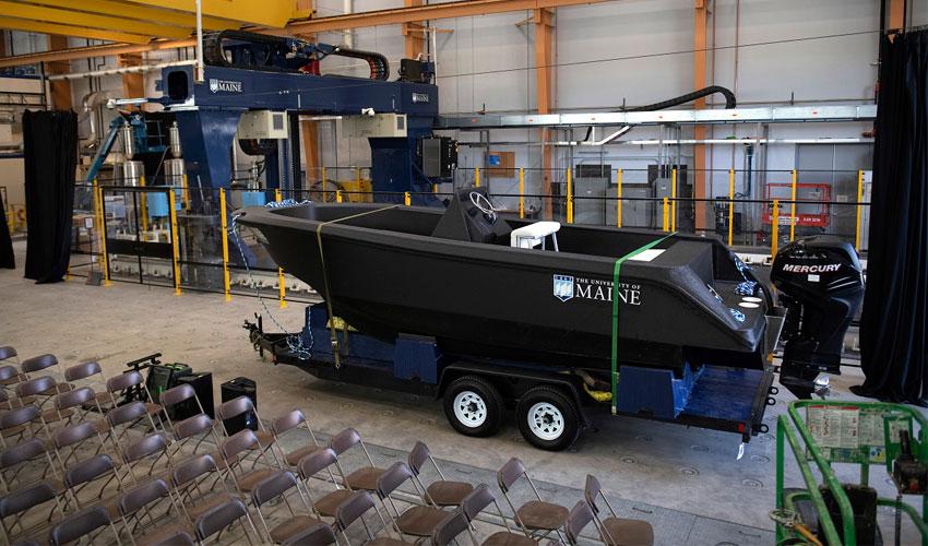 bateau imprimé en 3D