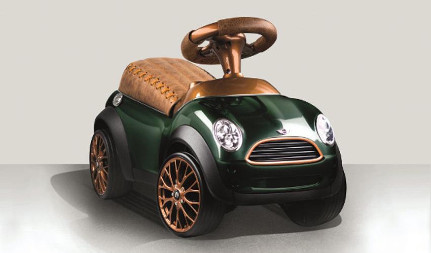 Bobby Tailor conçoit des voitures pour enfant grâce à la fabrication additive