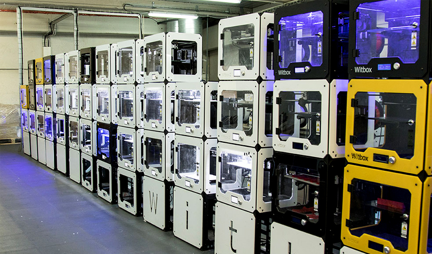 usine imprimante 3D