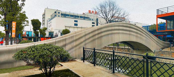 pont imprimé en 3D chine