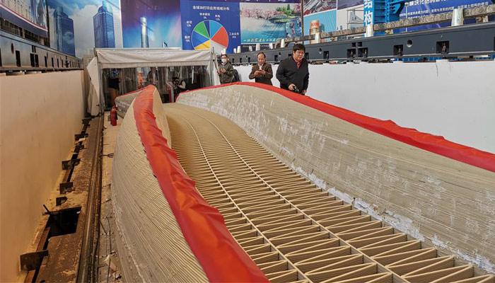pont en plastique imprimé en 3D