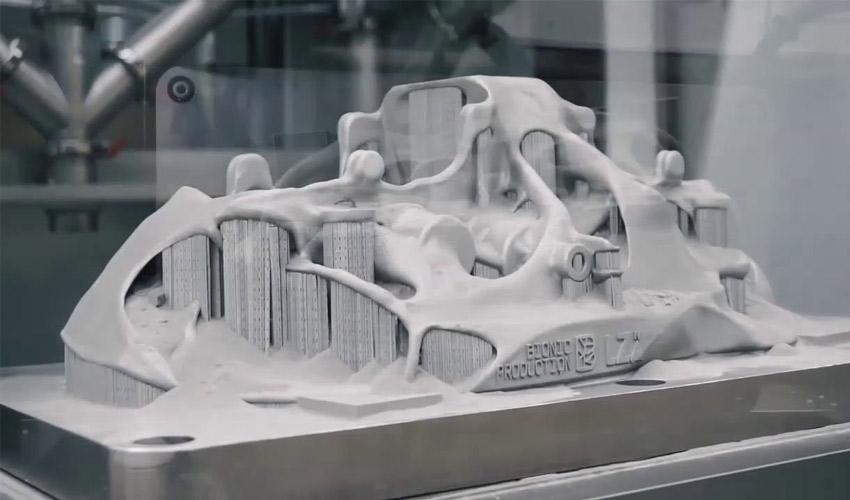 bugatti impression 3D métla
