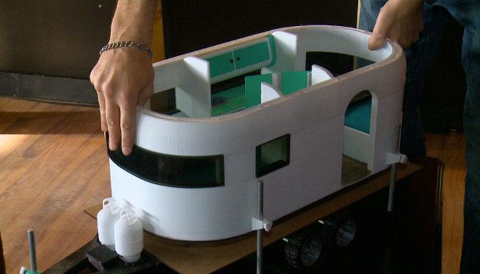 camping car imprimé en 3D