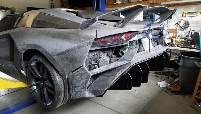 Lamborghini imprimée en 3D