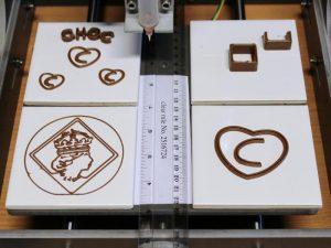 Impression 3D de chocolat avec la Choc Creator V1