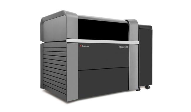 L'imprimante 3D Objet500 Connex3 de chez Stratasys, multi-matériaux et couleur