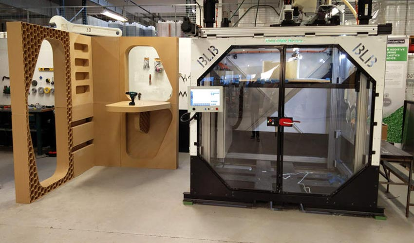 Une imprimante 3d grand format pour cr er fen tres et - Fenetre grand format ...