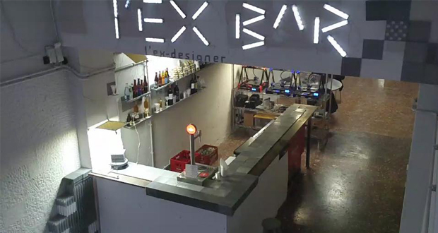 L'Ex-Designer Bar, le bar espagnol imprimé en 3D