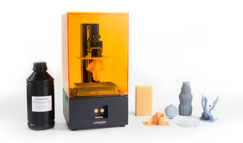 Test De Limprimante 3d Orange 30 De Longer3d 3dnatives