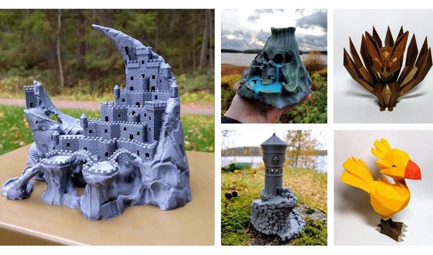 Les modèles 3D ultra détaillés de Jukka Seppänen aka Kijai