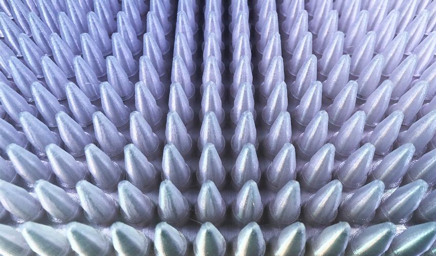 cupules imprimées en 3D