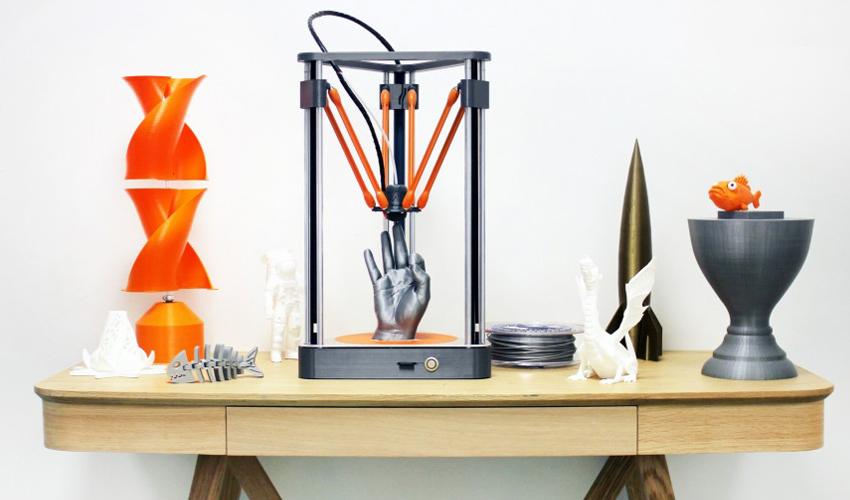 Les origines de la Neva, l'imprimante 3D de Dagoma