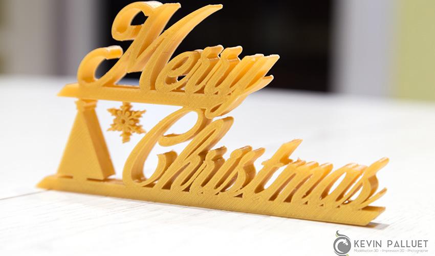 TOP 10 des décorations de Noël à imprimer en 3D