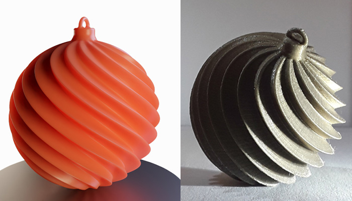3d Printed Christmas Ornaments.Top 10 3d Printed Christmas Decorations 3dnatives
