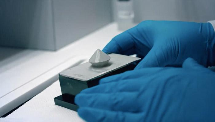 diamant composite imprimé en 3D