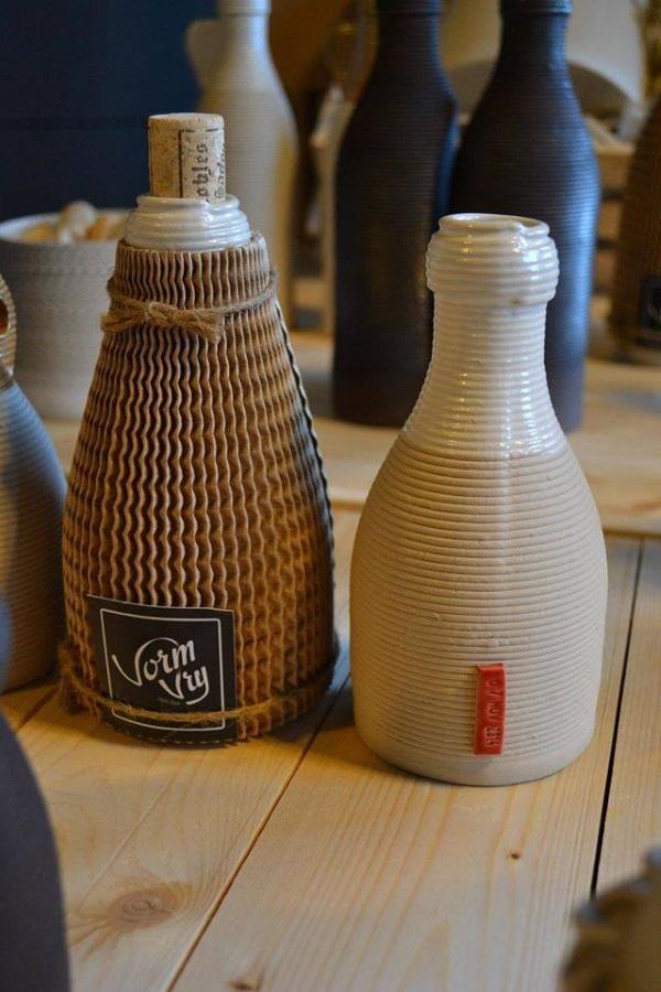 Les séries de bouteille de Yao et Marlieke