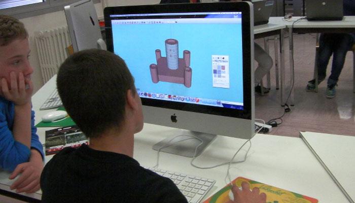 impression 3D à l'école