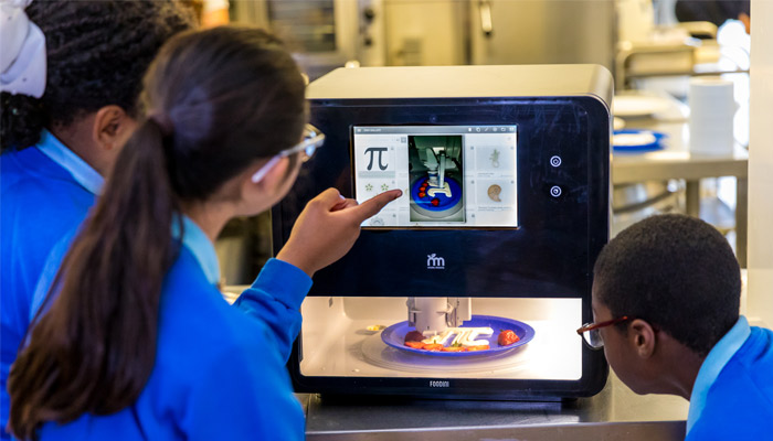 Canteen 3D food printer