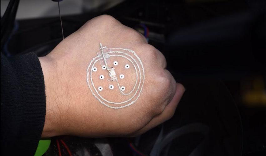 électronique imprimée en 3D