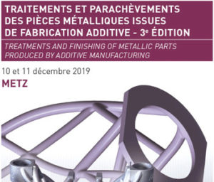 traitements fabrication additive