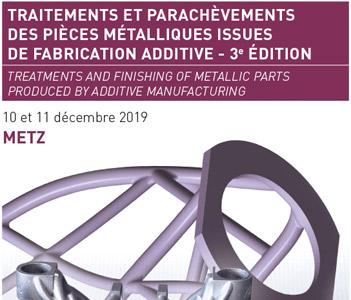 traitements fabrication additive