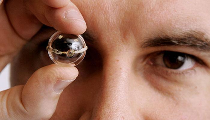 oeil bionique imprimé en 3D