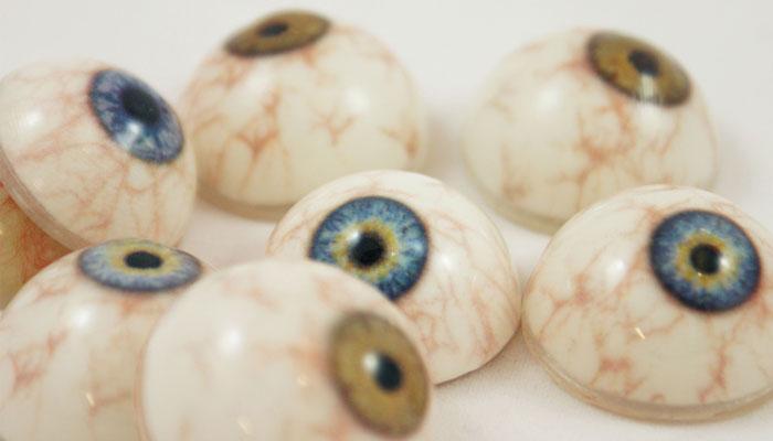 oeil artificiel imprimé en 3D