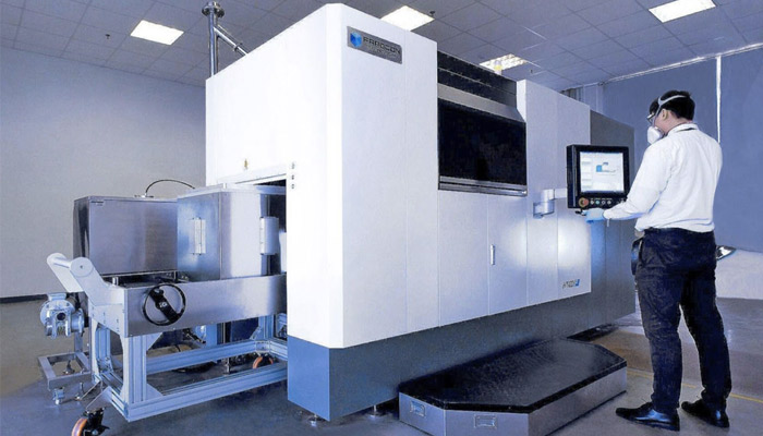 marché chinois fabrication additive