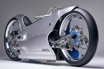 Fuller Moto 2029, une moto électrique entre impression 3D métal et procédés classiques