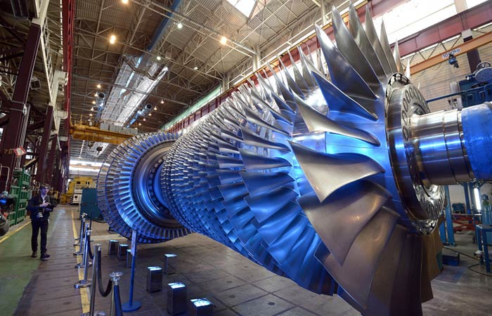 turbine impression 3D
