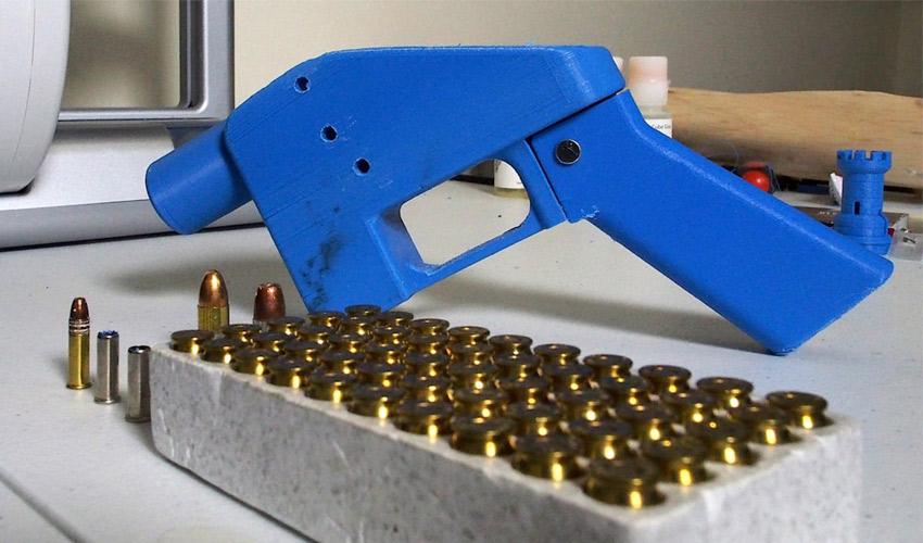 armes à feu imprimées en 3D
