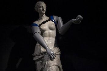 Handicap International imprime en 3D des prothèses pour la Vénus de Milo