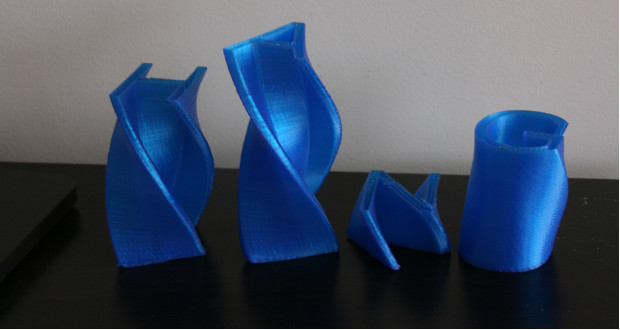 imprimante 3D suspendue